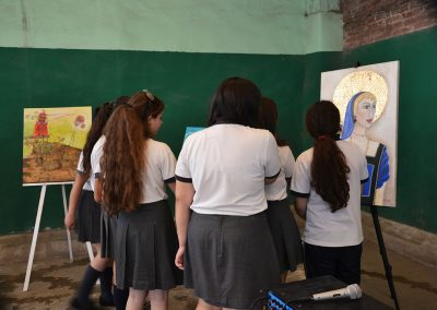 camino por las artes muestra itinerante instituto maria rosa mistica (11)