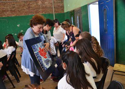 camino por las artes muestra itinerante instituto maria rosa mistica (20)
