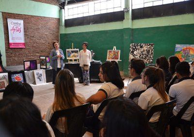 camino por las artes muestra itinerante instituto maria rosa mistica (40)