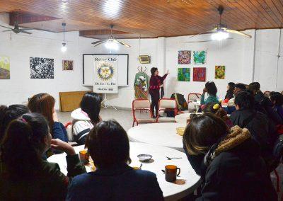 camino por las artes muestra itinerante rotary club jose c paz 1-2